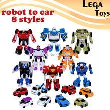 Robot To Car Mini Series Deformation Tobot Anime Action Figure toys Mini Robot Choose Option Action Figure Robot Car 8 styles