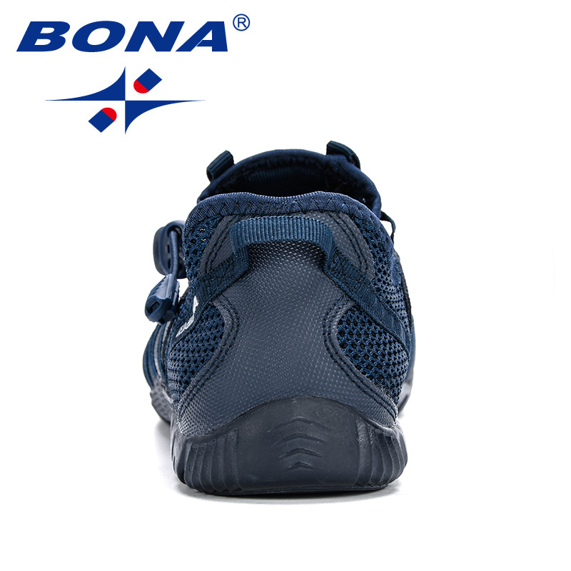 BONA 2019 New Popular Casual Shoes Men Lac-up Lightweight Comfortable Breathable Walking Sneakers Man Tenis Feminino Zapatos 2
