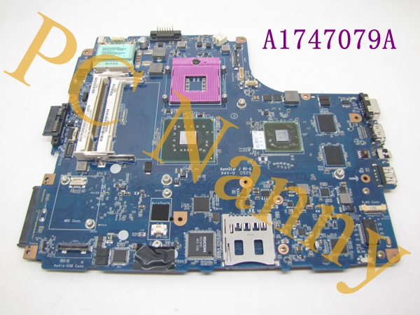 FOR Sony VAIO VGN-NW Intel Laptop Motherboard s478 A1747079A MBX-217
