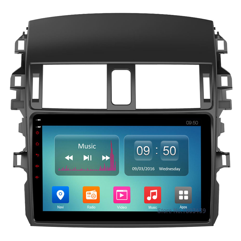 Octa Core 2GB RAM 32GB ROM C500+ 9 Android 6.0 4G WIFI DAB+ Car DVD Player Radio For Toyota Corolla 2009 2010 2011 2012 2013