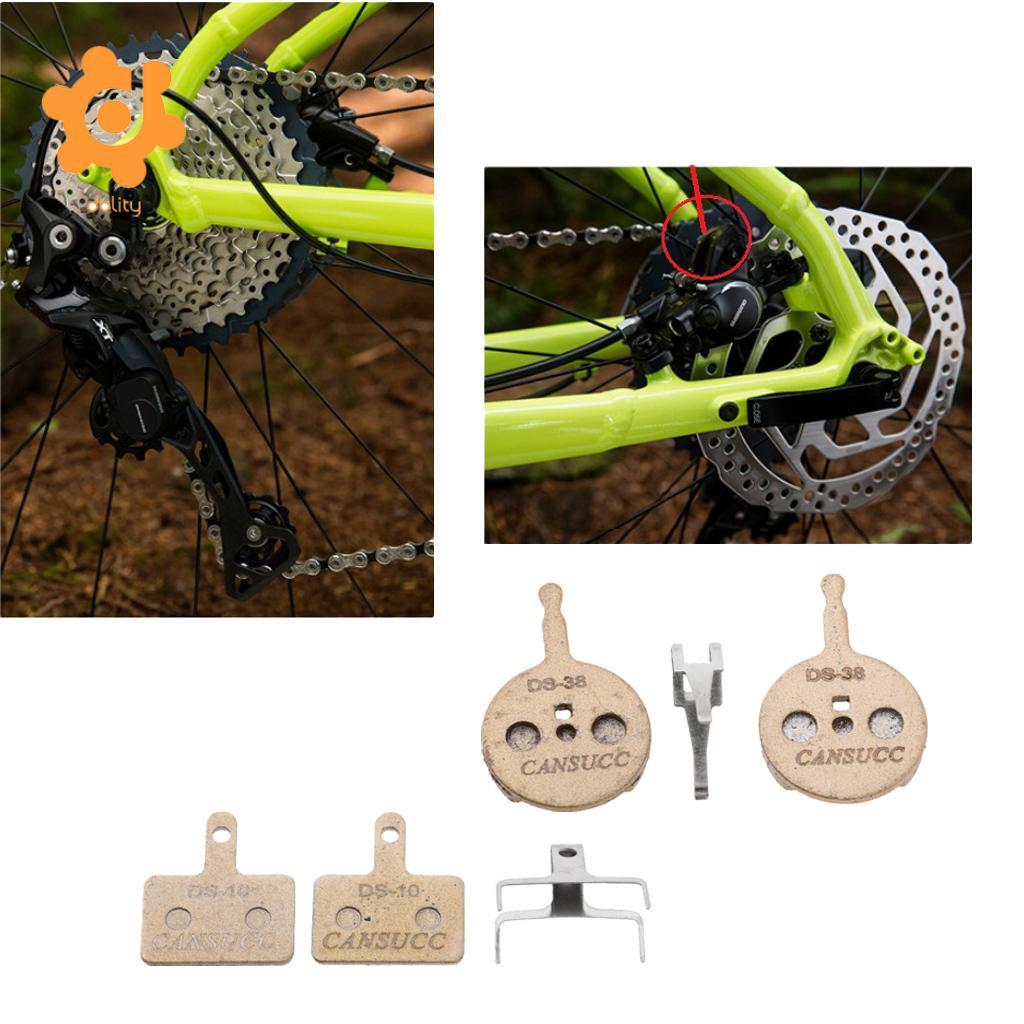 2pcs Cycling Mountain Road Bike Bicycle MTB Disc Brake Pads Blocks Accessories