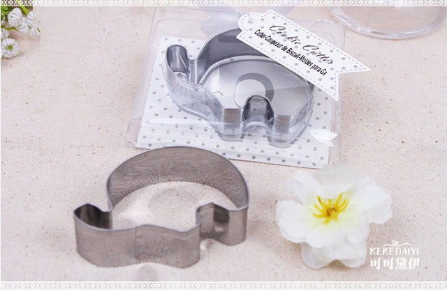 Baby Shower Party Favors Elephant ~ New arrival elephant shape cookie cutter wedding baby shower party