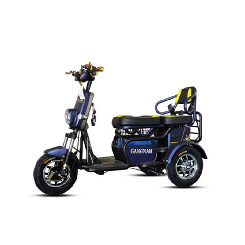 Electric Scooter Lithium Battery Tricycle Many Colors Safety Recreational Vehicle Collapsible Free Installation for Adult Elders electric scooter antiskid seat hand brake recreation vehicle collapsible disabled safety comfortable for single elder people