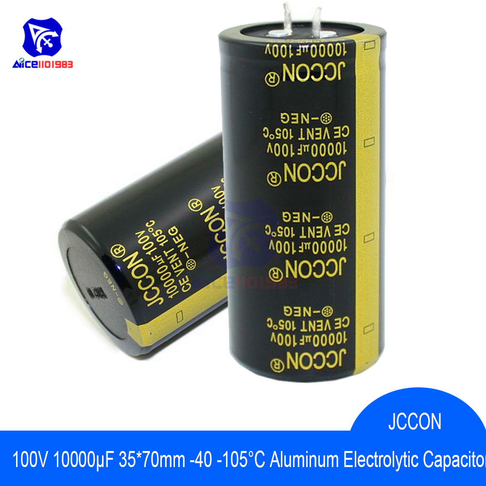 Aluminum Electrolytic Capacitor 100V 10000uF 35x70mm High Frequency Low ESR 100V10000μF 35*70mm Capacitor