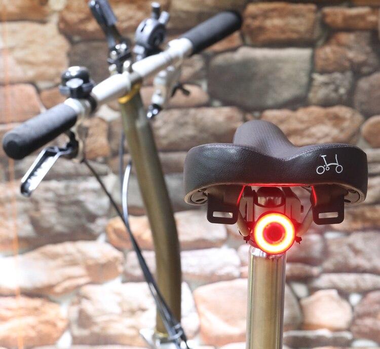 NEWBOLER Smart Bicycle Rear Light Auto Start//Stop Brake Sensing IPx6 Waterproof