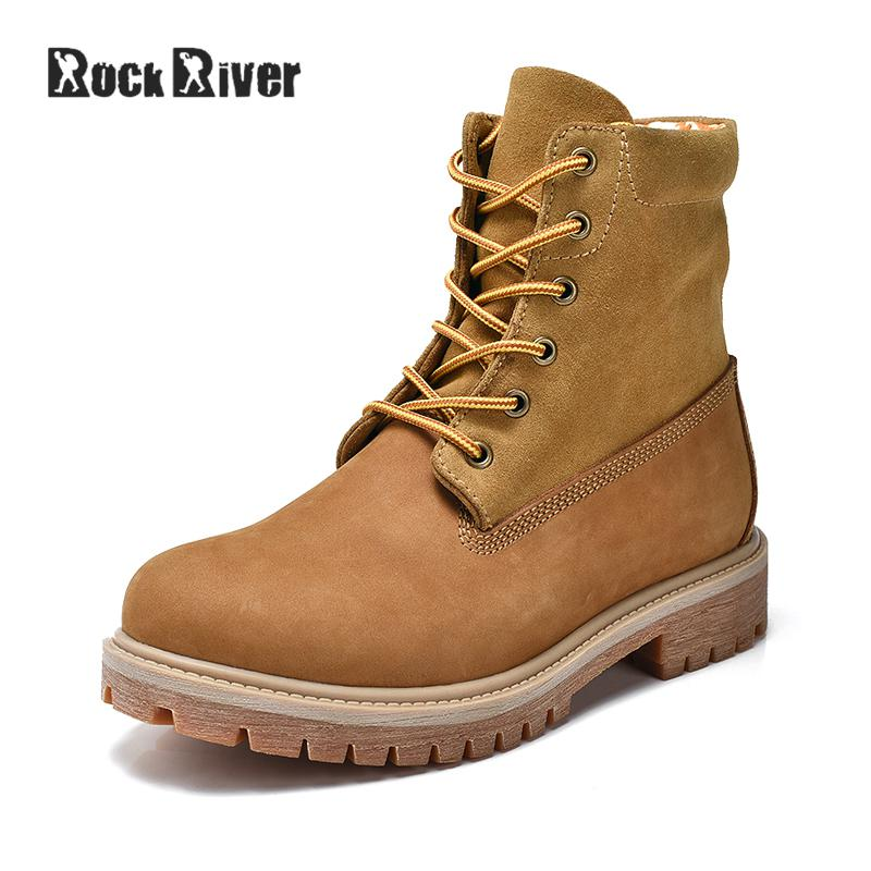 Rock River Unisex 2017 Tactical Desert Boots Men, Army Combat Military Boots, Ankle Genuine Leather Men Boots Suede Plus Size
