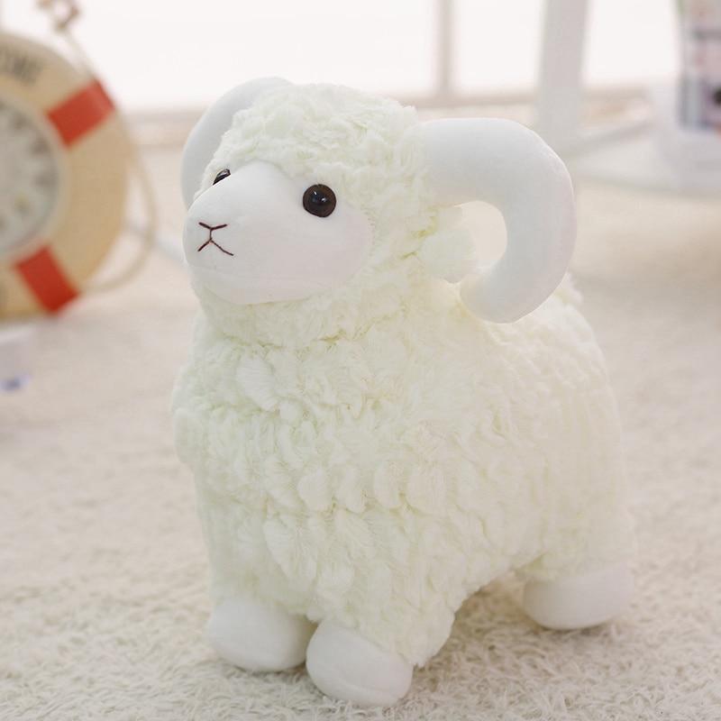 Lovely Little Sheep, Plush Toys, Sheep, Dolls, Pillows, Sleeping Korean Dolls