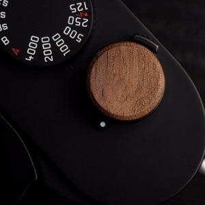 Image 5 - 16mm Wooden Wood Soft Shutter Release Button For Fuji Fujifilm X100F XE3 XT2 XT30 XT20 FujiFilm XT20 X T2