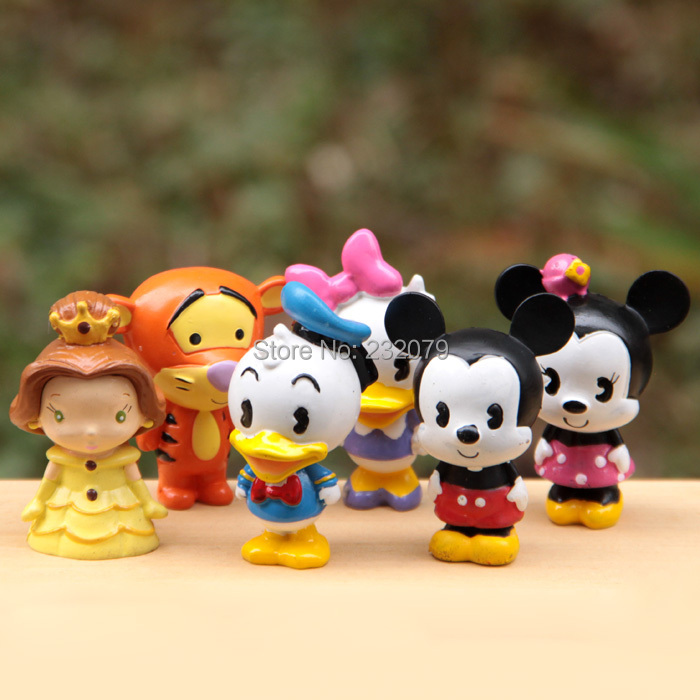 Anime Pop Mickey Minnie Mouse Duck Plastic Doll Funko Mini Pvc Figures Kids Toys Gift Boys Girls Children - Store store