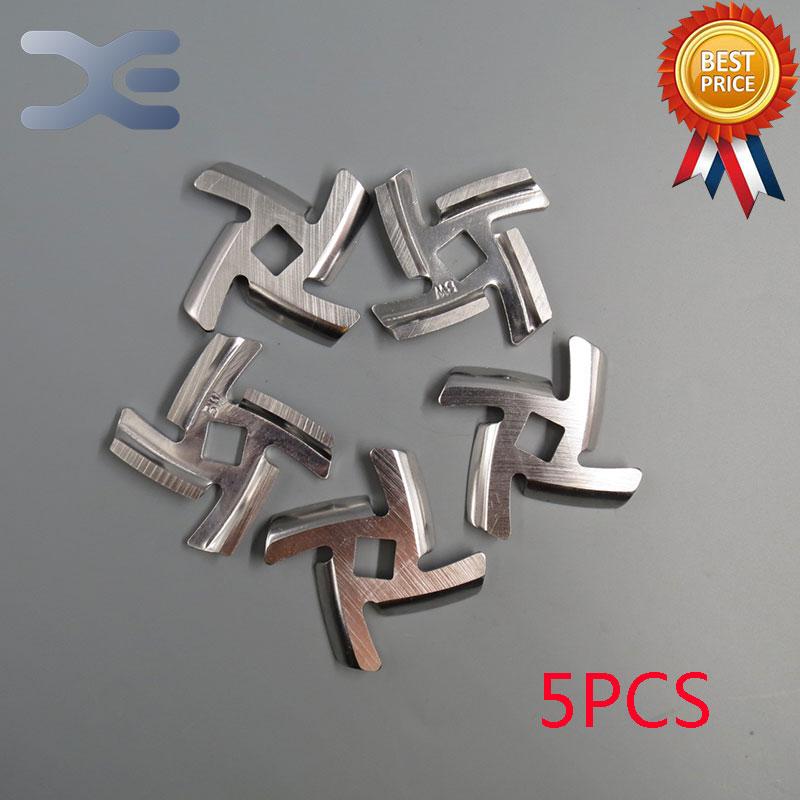 5Per Lot 0.17in/4.4mm Thick Stainless Steel Meat Grinder Blades For Grinder Knife Parts Gehakt Molen Onderdelen цена 2017