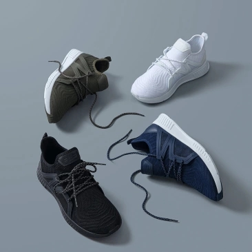 جديد جديد 90 تنفس محبوك حذاء كاجوال runningshoes الرياضية رياضية TPU دعم و عالية الجودة جلدية للنساء الرجال-في أغطية الحذاء من المنزل والحديقة على  مجموعة 2