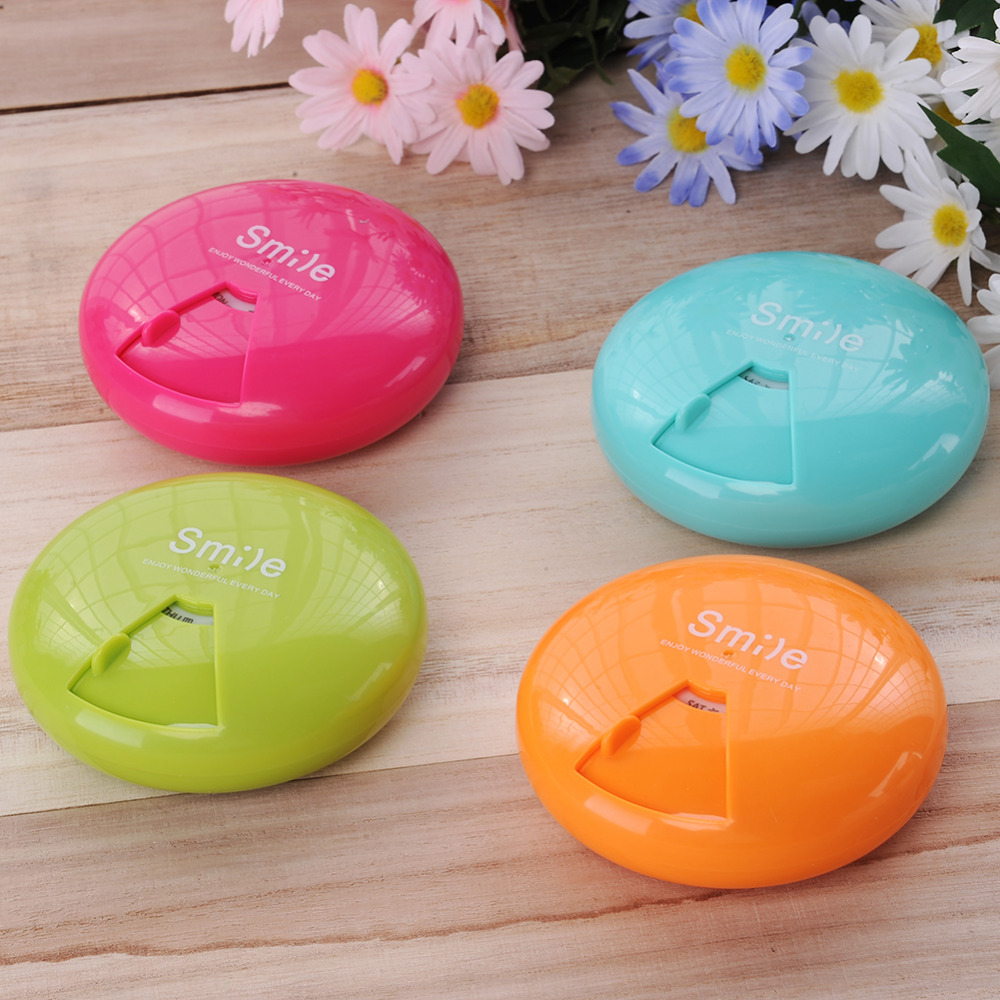 New Creative Rotating Pill box Case Organizer Medicine Drugs Porable Container Outdoor Travel 7-day dose