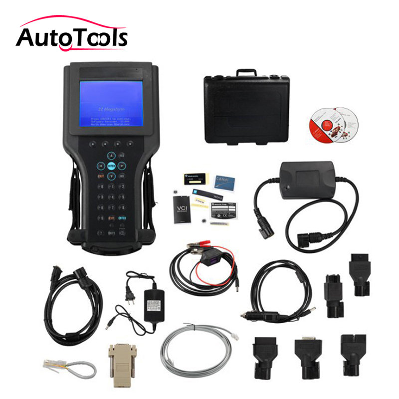 Profesional Auto herramienta de diagnóstico para G-M coche código escáner herramienta Tech 2 para SAAB/OPEL/SUZU con caja de plástico