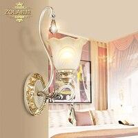 , Европейский стиль настенный светильник Настенный светильник ночники/гостиная, спальня современный минималистский освещение WL7257 1