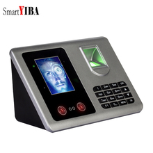 """SmartYIBA 2.8""""Inch TFT Fingerprint + Facial Recognition Attendance Machine Time Clock Recorder Employee Management USB Support"""