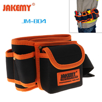 Waterproof Durable Electrician Tool Bag Belt Mechanic Canvas Waist Pocket Carpenter Rig Hammer Utility Kit Repair