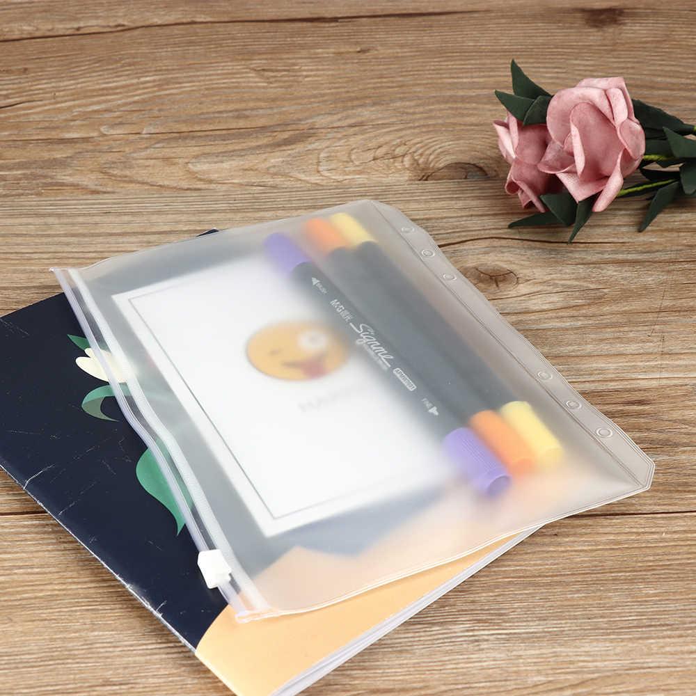 Bolsas de almacenamiento de hoja suelta de PVC con cierre de cremallera de 1/5 piezas, bolsa con cierre de cremallera transparente, tela de equipaje de maquillaje de viaje impermeable bolsa de lápiz