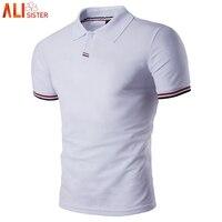 Мужские рубашки поло больших размеров 3XL, весенне-летние Брендовые мужские рубашки поло с коротким рукавом, повседневные мужские рубашки по...