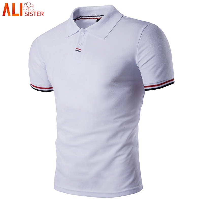 Plus Size 3XL Polo Shirt Mens Spring Summer Brand Men's Polo Shirt Short Sleeve Casual Male Shirt Mens Polo Shirts Homme Tops