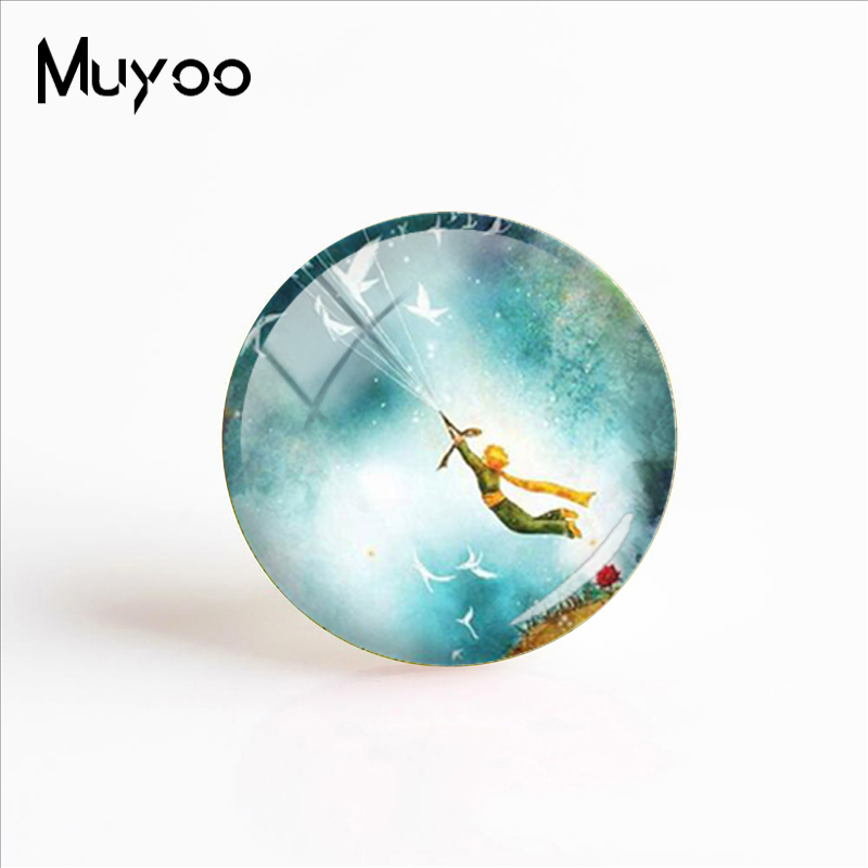 2018 New The Little Prince Fashion Handcraft Jewelry Little Prince Handmade Photo Cabochons Dome Glass Dome Jewelry the little prince