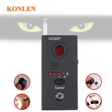 Анти-детектор шпиона радио сканер мини камера Анти-трекер gps ошибка GSM радиочастотного сигнала детектор устройств cc308 конфиденциальности безопасности spyfinder