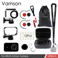Vamson For Mijia Accessories Kits 12 In 1 45m Waterproof Housing Case Protection Case For Xiaomi