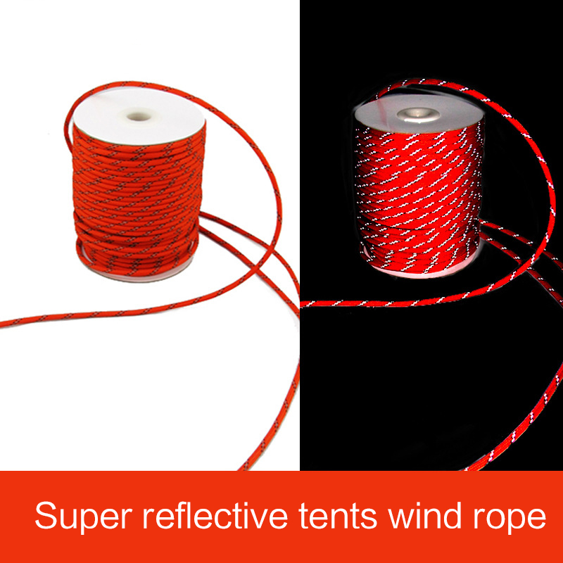 Colorful Tent Hang Lanyard Tent Cord Universal Rope For Outdoor Camping Hiking