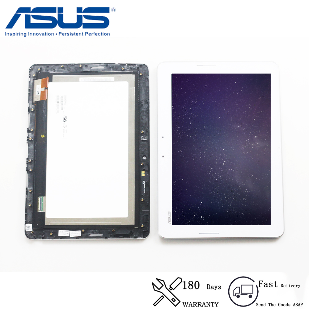 Original For Asus Transformer Pad TF303 TF303K TF303CL CLAA101FP05 LCD Display Matrix Touch Screen Digitizer Assembly With Frame