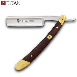 Бесплатная доставка, Мужская бритва для бритья, прямая бритва Titan