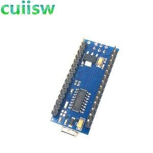 Image 4 - 10 יח\חבילה ננו 3.0 בקר תואם לarduino nano CH340 USB נהג עם כבל ננו V3.0 ATMEGA328P