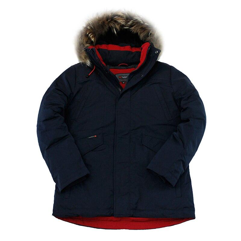 2019 New Winter Jacket Men Parka Winter Coat Padded Jackets Real Raccoon Fur Thick Hooded Mens Winter Parkas Veste Homme Hiver