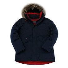 2019 New Winter Jacket Men Parka Winter Coat Padded Jackets Real Raccoon Fur Thick Hooded Mens Winter Parkas Veste Homme Hiver цена в Москве и Питере