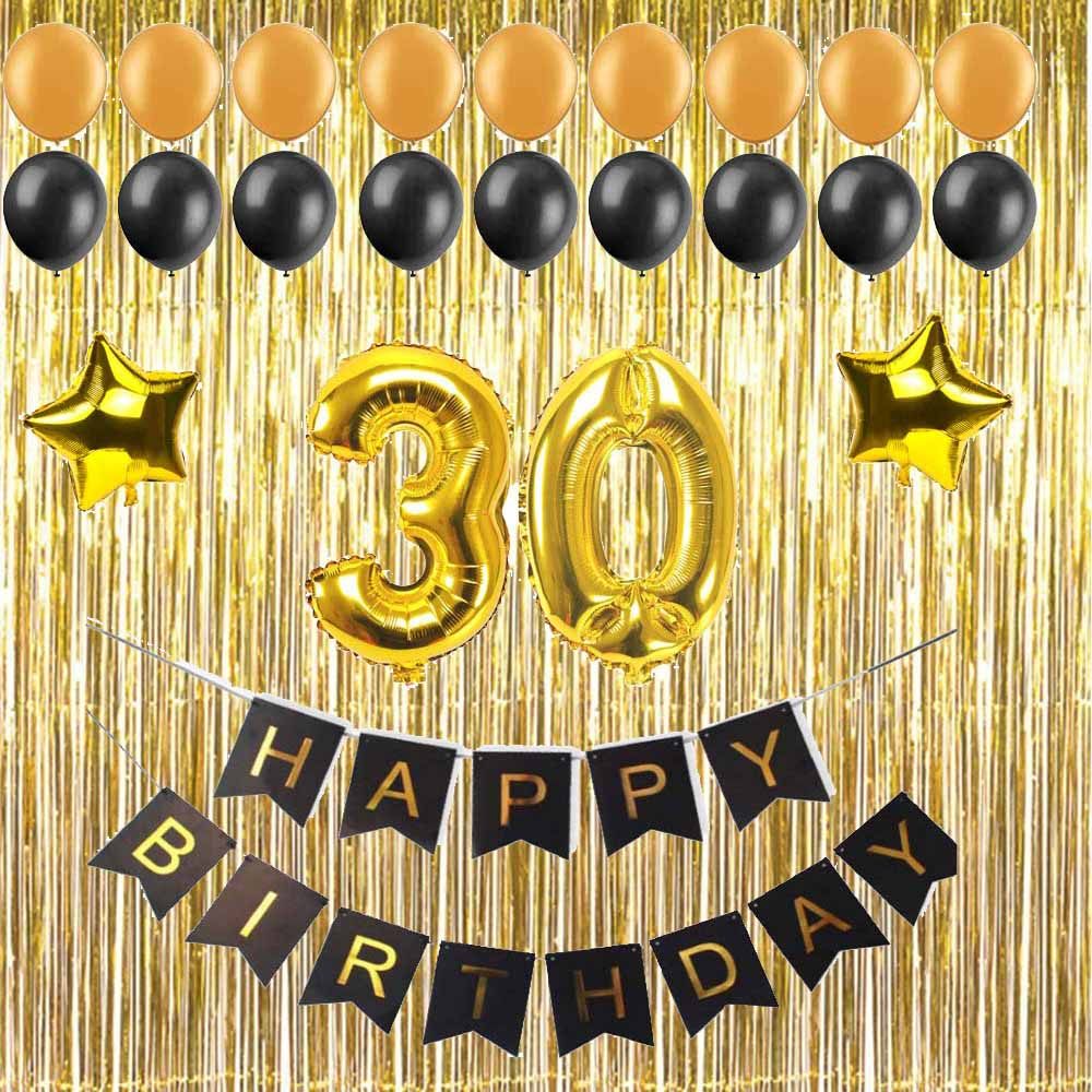 1 Set 30 40 50 60 Years Old Adult Birthday Party Diy
