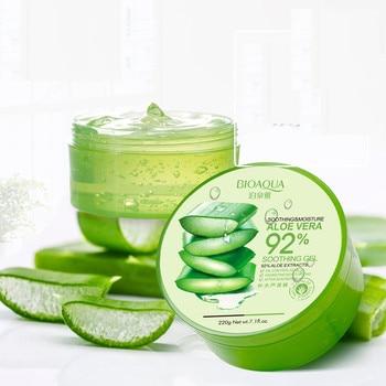100% Pure Natural Aloe Vera Gel Smoothing Moisture Repair Cream Eliminate Edema Sunblock Face Mask 1