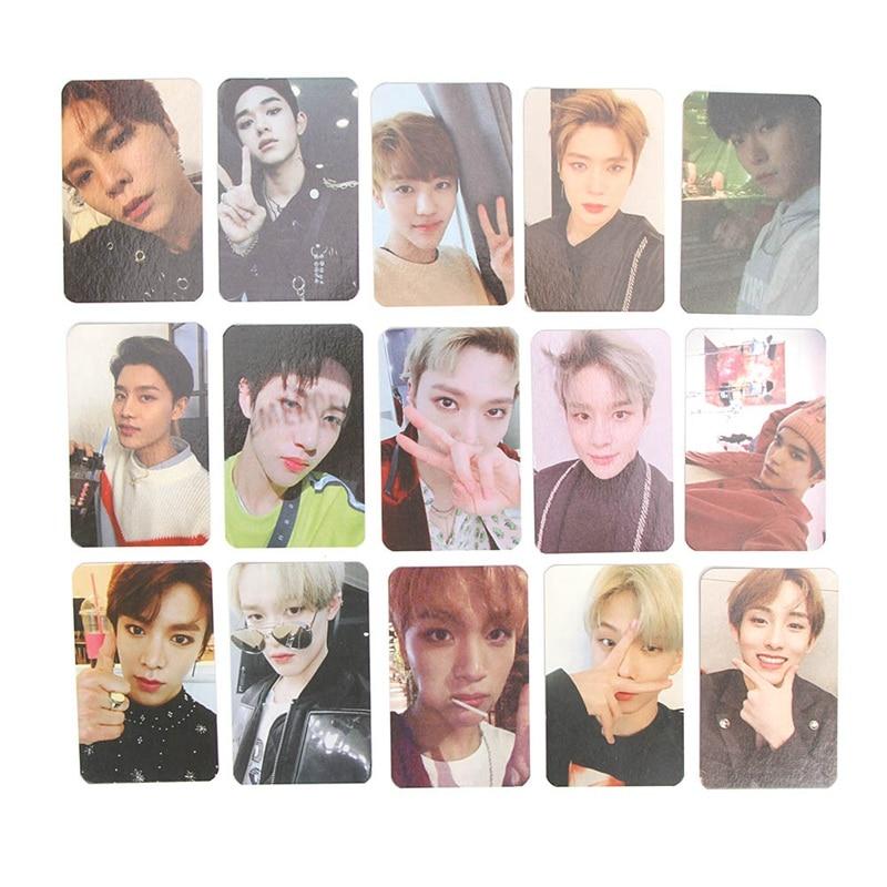 2018 бумага для сопереживания Новое поступление популярная многоцветная версия NCT 127 плакат карта автограф фотостудия самодельные фото карты