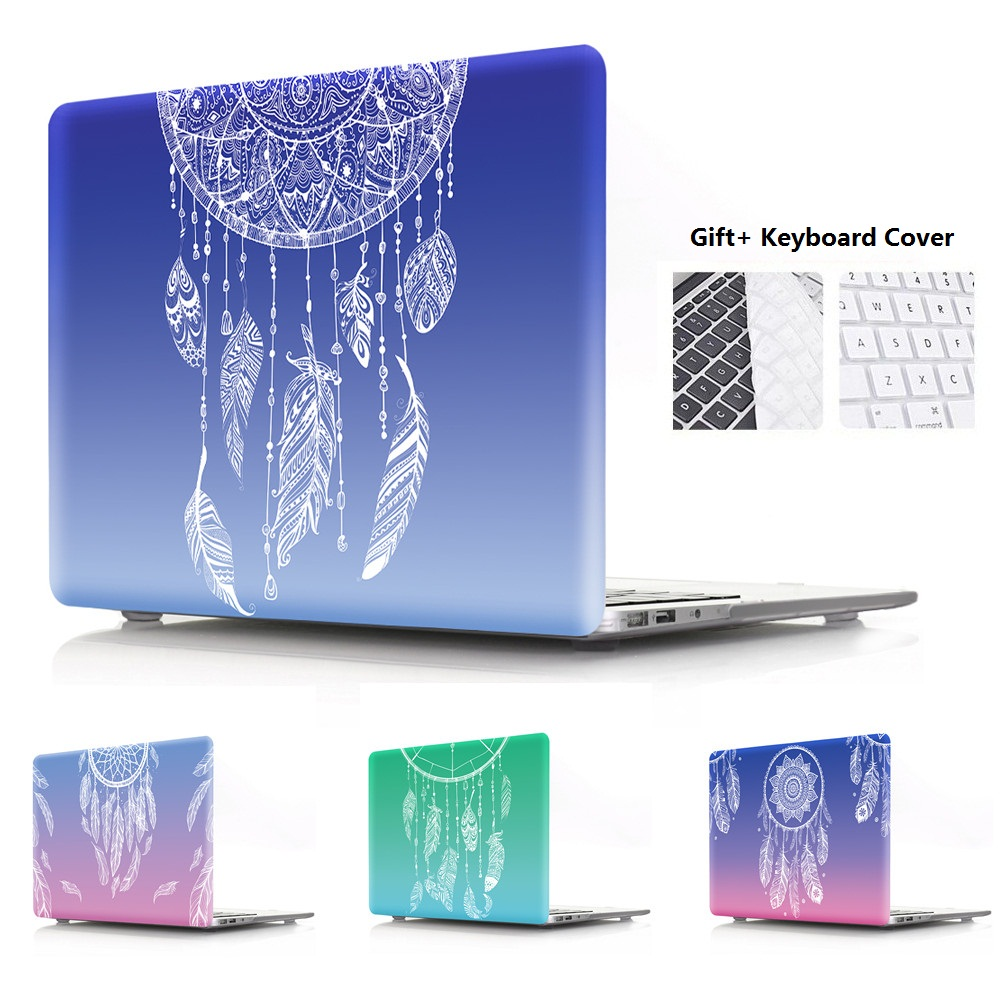 Wind Bell Ultra Slim Light Weight Scratch Proof Case For MacBook 12 inch Air 11 13 inch Pro 13 15 inch Pro retina 13 15 inch