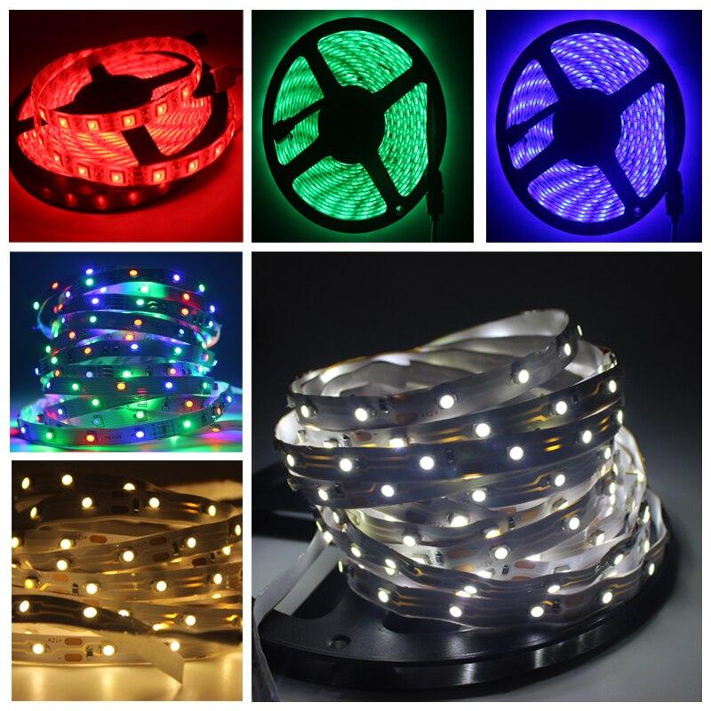 Smd 3528 High Quality Led Strip Lights 12 Volt Outdoor: LED Strip Light 12V 5M 300 Leds SMD 3528 2835 Diode Tape