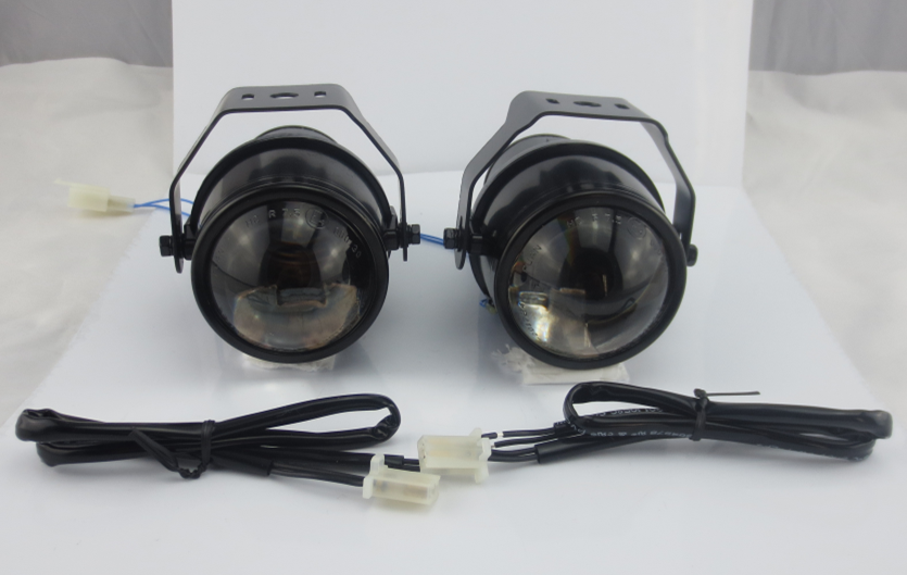 Guangzhou Auto Light Car Fog Projector Lens without Bulb Car Lights 2.5 Inch Universal Type Fog Projector Lens Light