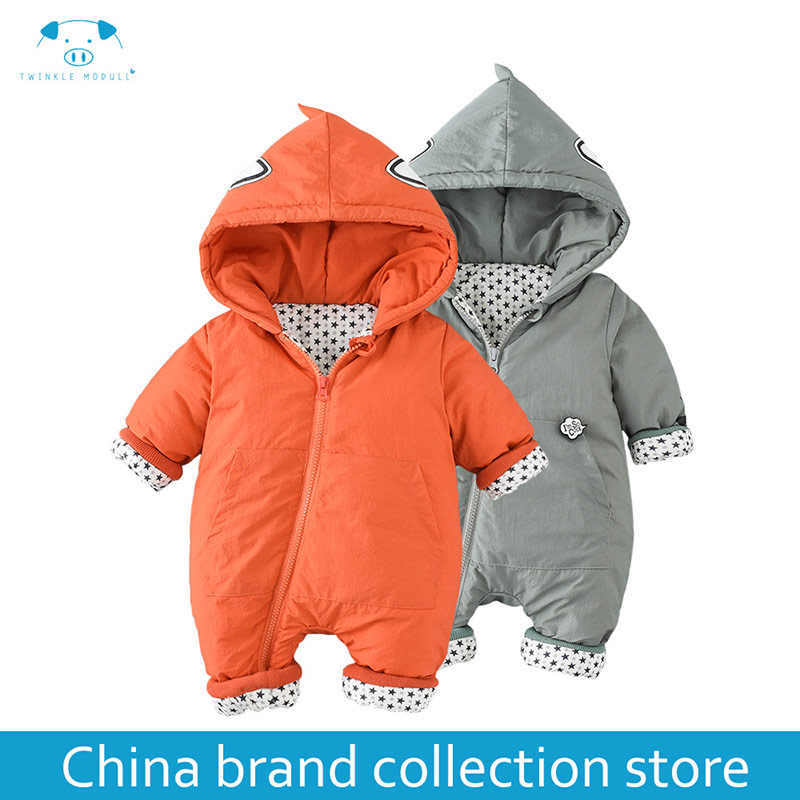 winter rompers newborn boy girl clothes set baby fashion infant baby brand products clothing bebe newborn romper MD170D022 2pcs set baby clothes set boy