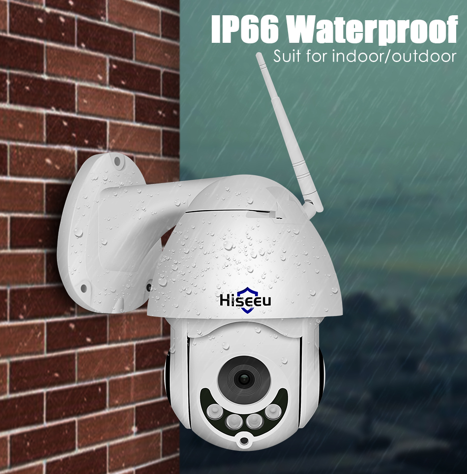 HTB1sVGKa0fvK1RjSszhq6AcGFXah Hiseeu 1080P Wireless PTZ Speed Dome IP Camera WiFi Outdoor Two Way Audio CCTV Security Video Network Surveillance Camera P2P