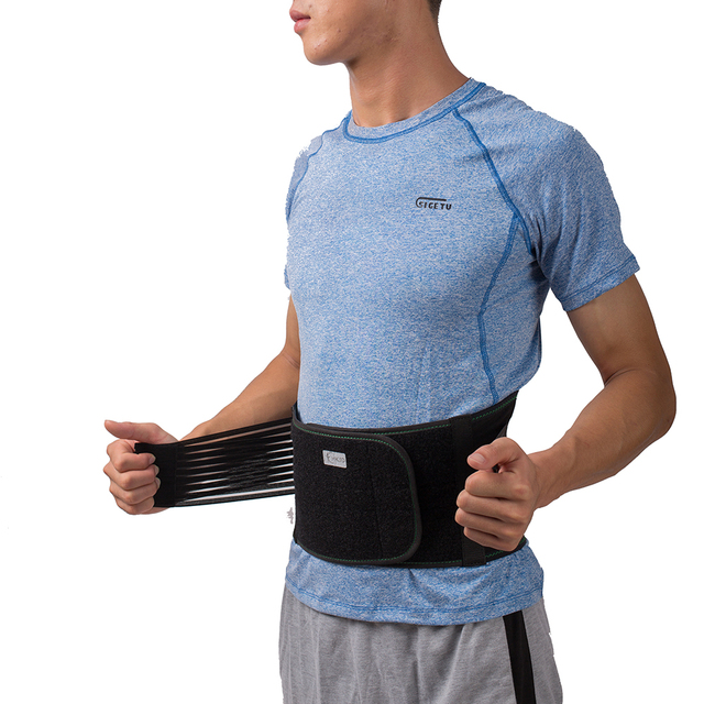 Lower Back Lumbar Spinal Spine Waist Brace Support Belt Corset Stabilizer Cincher Tummy Trimmer Trainer Weight Loss Slimming