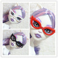 100 Pcs/lot  Wholesale  Doll Accessories Plastic Dancing Party  Glasses For Monster Dolls