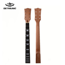 22 Fret LP Guitar Neck Mahogany Rosewood fingerboard sector and binding Inlay for LP Electric Guitar neck Free shipping недорого