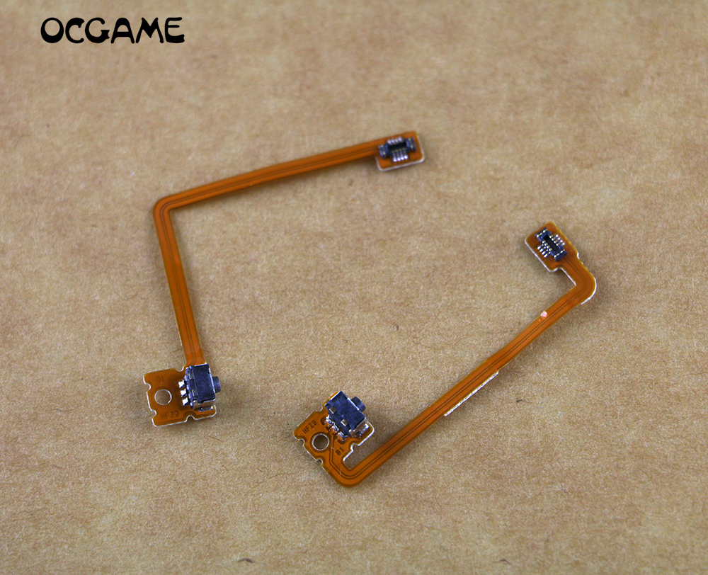OCGAME 2sets/lot Original for 3DSXL 3DSLL 3DS XL/LL LR buttons cable for 3DSXL LR switch cable