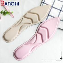 3ANGNI 5D арка подкрепа меки анти-хлъзгави памет пяна за масаж обувки вмъкнете подложки стелки за жени високи токчета обувки  t