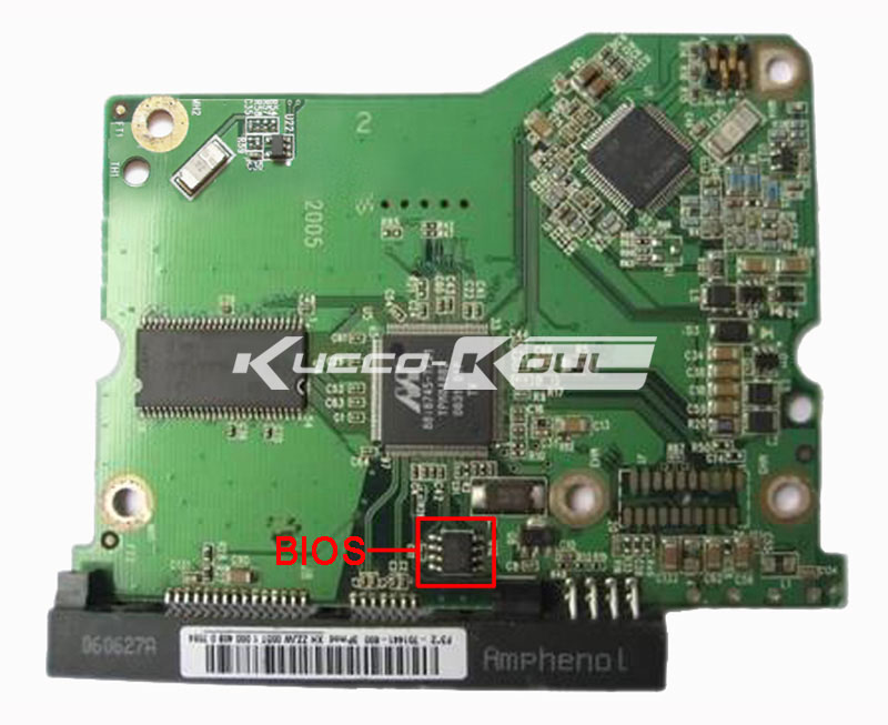 HDD PCB Circuit Board 2060-701441-000 REV P1 For WD 3.5 SATA Hard Drive Repair Data Recovery