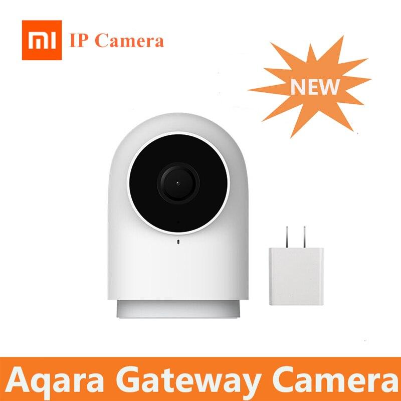 2019 Original Xiao mi jia Aqara caméra intelligente G2 travail avec APP appel vocal Zigbee alarme câble USB mi Cam pour Xiao mi Smart homekit