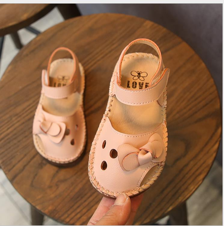 Toddler Infant Kids Baby Girls Sandals Elegant Bowknot Flower Princess Shoes Sandals For Girls Summer Shoes Kids Bow Sandal