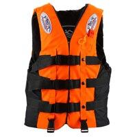 Life Jacket Universal Swimming Boating Ski Vest +Whistle