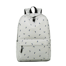 Купить с кэшбэком Fashion Printing Backpack Women Children Schoolbag Back Pack Leisure Ladies Knapsack Laptop Travel Bags for School Teenage Girls